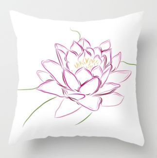 WaterLilyPillow